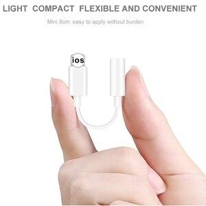 Image 5 - Для Lightning/3,5 мм переходники Кабель для подключения наушников для iphone X 7 8 Plus 3,5 мм аудио USB конвертер наушников адаптер для телефона