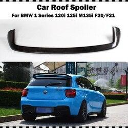 Dla BMW F21 Spoiler 2012 2018 1 serii 116i 120i 118i M135i z włókna węglowego dla F20 tylny Spoiler dachowy stylowa klimatyzacja tylne skrzydło spojlera|Spoilery i skrzydła|   -