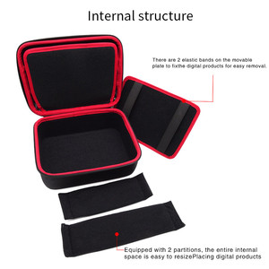 Image 3 - Large Size Electronic Gadgets Storage Case Bag Travel Organizer Case For HDD USB Flash Drive Data Cable Digital Storage Bag