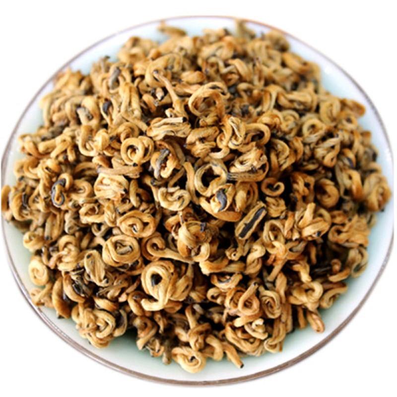 2019 Nonpareil Organic Yunnan FengQing Golden Bud Snail Dian Hong Black DIANHONG