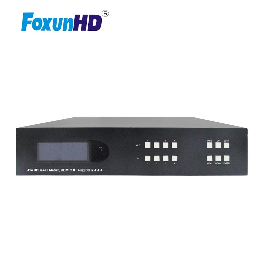 SX MX07B 70  upto 70m 4x4 hdbaset hdmi 2.0 matrix switcher  with 4 HDMI Loop Out 4k 18Gbps HDR HDBaseT Matrix|Public Address System/Installation Sound| |  - title=
