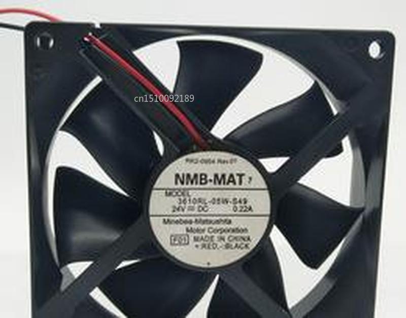 Für Original NMB-MAT 9025 3610RL-05W-S49 0.22A DC24V 3 draht inverter 9CM lüfter Kostenloser versand