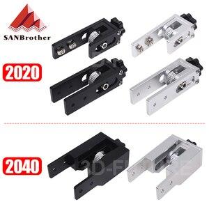 2020 X axis V-Slot 2040 Y axis