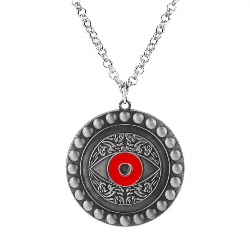 Docteur collier étrange oeil d'agamotto lien chaîne pendentif collier Marvel Avengers bijoux pour hommes femmes cadeaux Cosplay