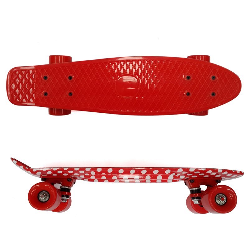Детские 56*15 см рыбы скейтборд мини Крейсер Скейтборд Пенни