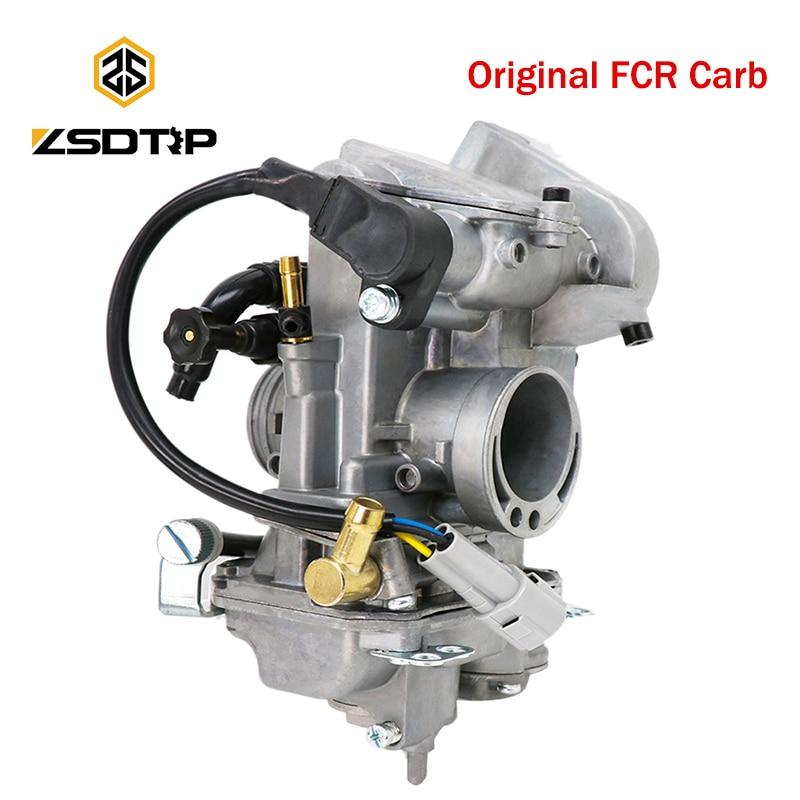 Оригинальный карбюратор ZSDTRP FCR33 FCR38 FCR40 для Honda мотоцикла CFR 450R для карбюратора Keihin FCR 40 мм CFR450
