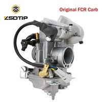 ZSDTRP Original FCR33 FCR40 Carburetor For Honda Motorcycle CFR 450R For Keihin FCR 40mm CFR450 Carburetor