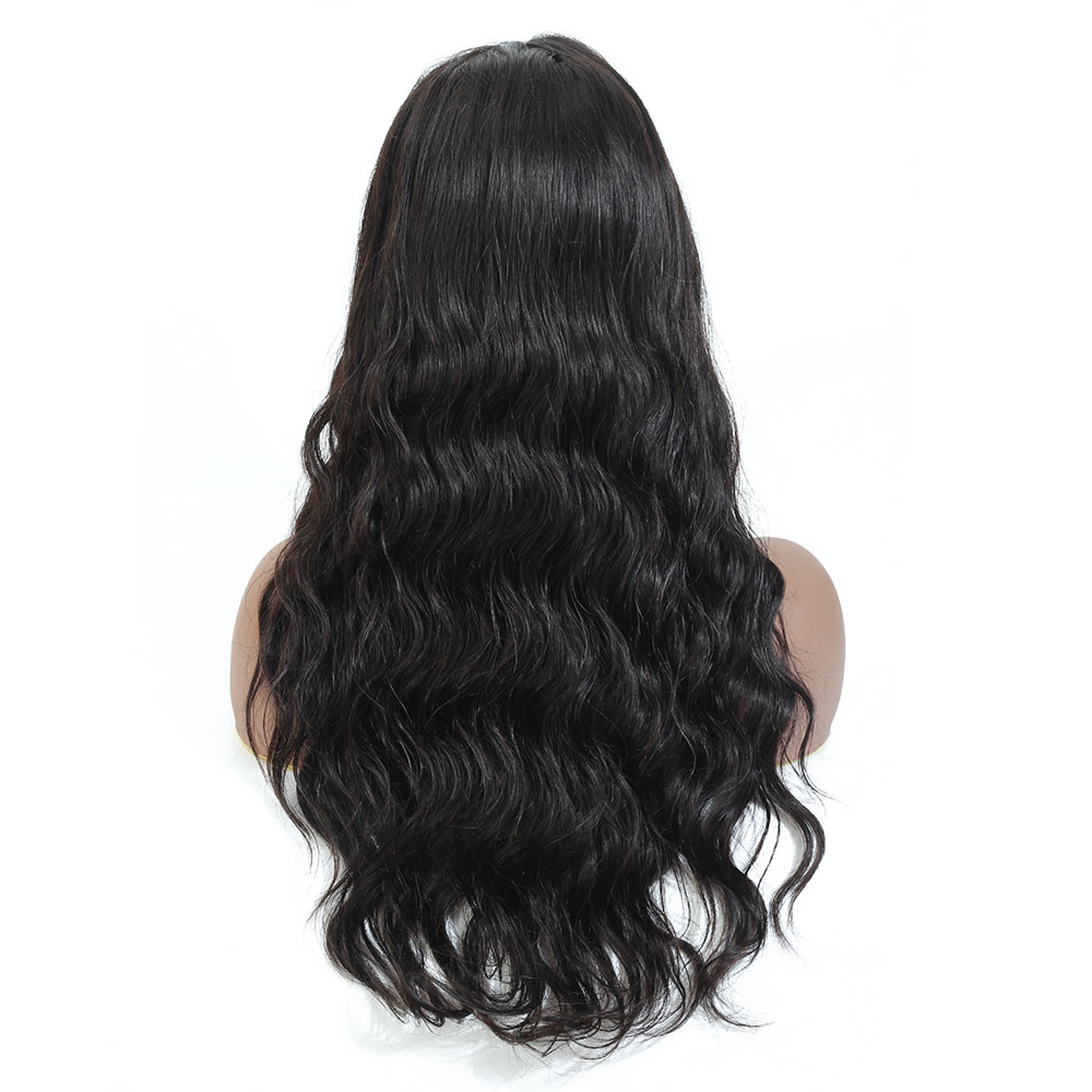 10-28 inch Wigs  Lace Closure Wigs Brazilian 4x4 Closure Wig 100% Human Hair Lace Wigs Water Wave Remy for Woman 150 Density
