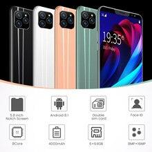 2021 I13Plus Mtk6592 10 core 5.8-inch TN screen resolution 480 * 854 4glte 4GB + 64GB 8.0mp + 16mp battery 4000mAh face unlock