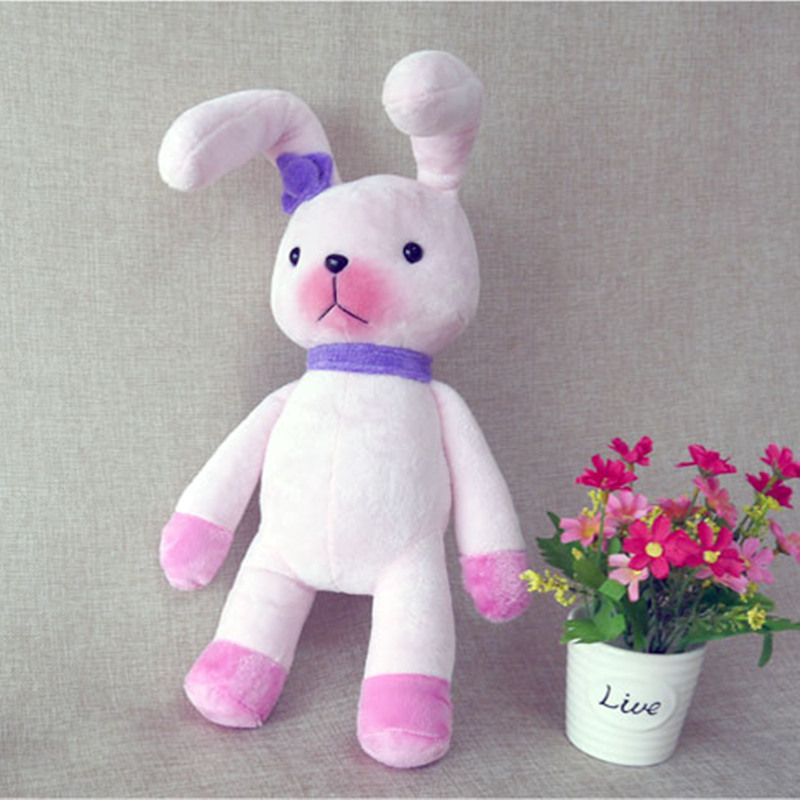 Lindos Juguetes de PelucheAnimal Lindo del Conejo Conejito La Mu/ñeca La Felpa Suave Peluche Juguete Almohadas para Dormir Decoraci/ón Rosa