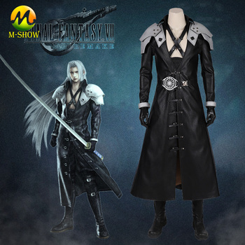 Final Fantasy VII Cosplay Sephiroth Costume Halloween Costume Armor Suit for Men Hot Video Game FF7 Sephiroth Outfit Custom Made