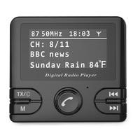 Durable For Car FM Transmitter Audio Adapter Radio Receiver Bluetooth Digital DAB/DAB Output Auto Mini Wireless Music