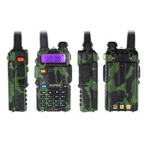 Image 4 - 2PCS BaoFeng UV 5R Walkie Talkie 5W Dual Band 136 174MHz  / 400 520MHz UV5R 128CH VOX Flashlight FM Transceiver for Ham Radio