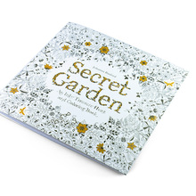 Coloring-Book School-Craft-Supply Garden Adult for Kids Secret DIY Toys Pencils 24pages
