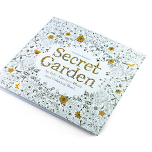 Coloring-Book Adult for Kids Secret Garden DIY Toys Pencils School-Craft-Supply 24pages