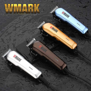 WMARK Professional Wired Hair Trimmer 6000-6500rm DC motor Sharp and light free blade set with 6 size guide comb NG-555 - DISCOUNT ITEM  49% OFF All Category