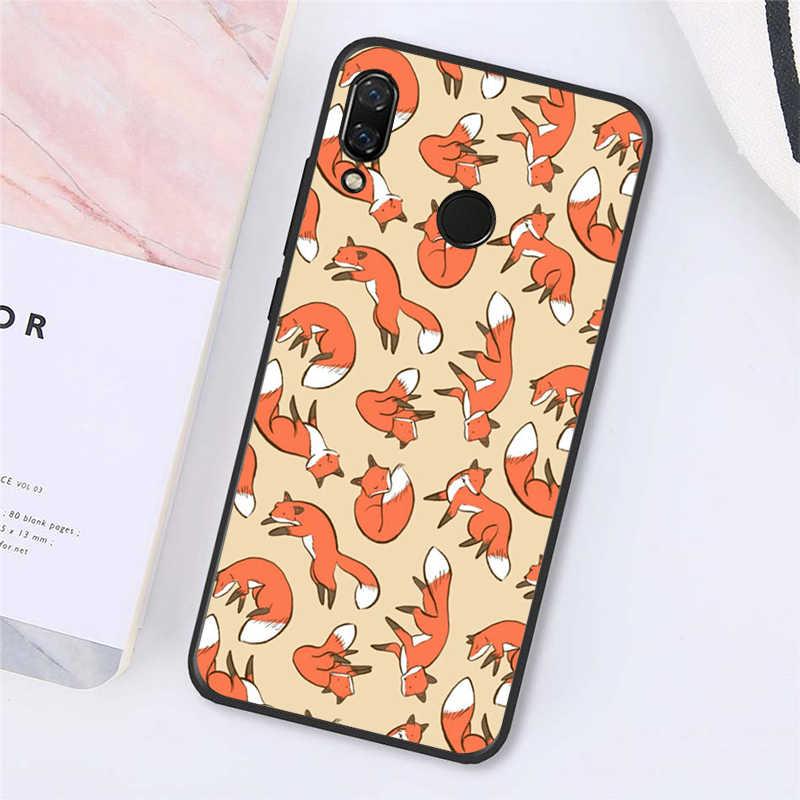 Babaite Hewan Rubah Di Wild Wood Phone Case untuk Xiaomi Redmi8 4X 6A S2 Pergi Redmi 5Plus note4 5 7 Note8Pro