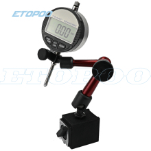 Цифровой индикатор 0-12,7 мм/0,5 ''0-25,4 мм 0,01 мм с мини магнитным держателем манометр штангенциркуль, измерительные инструменты
