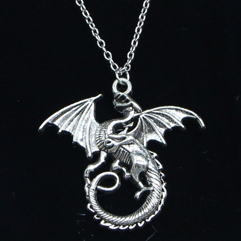 Collier dragon de feu 1