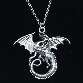Collier dragon de feu 1