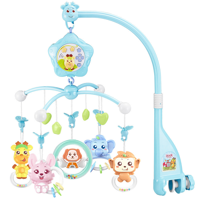 SOURCE Lobo Brand Direct Selling Hot Selling Pacify Newborns Music Rotating Projection Bed Bell Bedside Bell Baby Toys