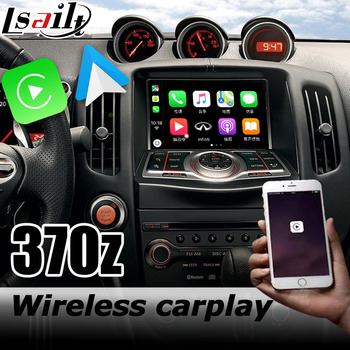 Carplay interface box for Nissan 370z skyline 2010-now with Murano Pathfinder Patrol Android auto youtube play image