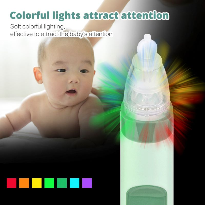 New Nasal Aspirator Baby Electric Nasal Aspirator Newborn Baby Nose Cleaner Adult Beauty Instrument Blackhead Remover Bab 2 In 1