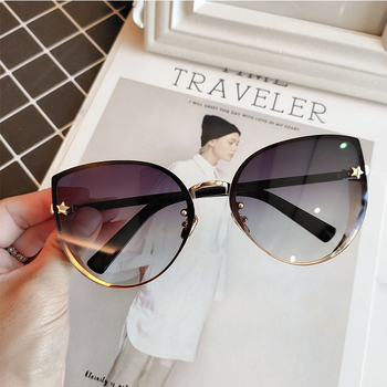 Womens Sexy Cat-Eye Sunglasses