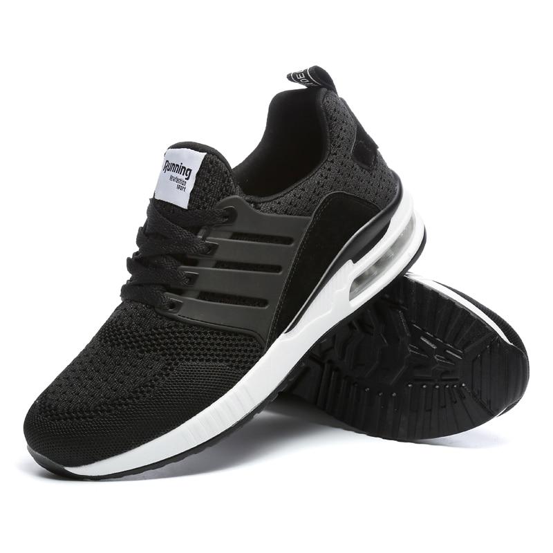 Image 3 - Flarut Men Tennis Shoes Air Cushion Lace Up Men Sport Shoes Breathable Mesh Sneakers Black Tenis Hombre Trainers Athletic ShoesTennis Shoes   -
