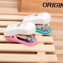 Kawaii Random Color Portable Mini Stapler Set without Staples Stationery Office Binding Tool School Binder Teacher Gift