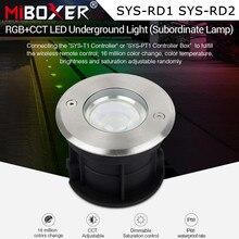 Miboxer SYS-RD1 5W RGB+CCT LED Underground Light Subordinate Lamp IP68 Waterproof Spotlight Outdoor light APP WIFI Voice Control