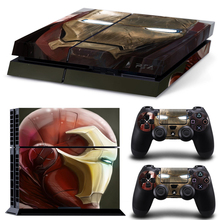 Vinyl Film Sticker Accessories for Ps4 Pro Slim Skin Console for Sony Playstation 4 Pro Console Marvel Stickers Skins for Ps4pro