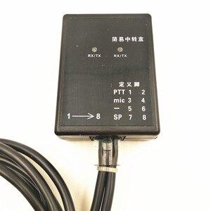 Image 3 - Caja repetidora de diseño para Radio de dos vías BAOFENG/TYT/WOUXUN/KIRISUN/HYT Relay box/repetidor de bricolaje para Walkie talkie ,TX y Rx indicat