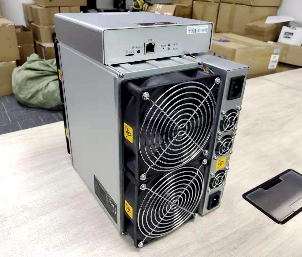 New Bitmain Antminer T17+ 55Th/s SHA256 7nm ASIC Chip Bitcoin Miner Antminer T17e with Power Supply 1