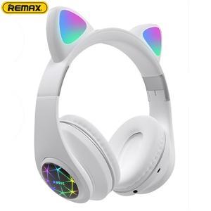 M2 кошачьи наушники, светящиеся на голове, беспроводные Bluetooth наушники, Macaron, цветные, свободные руки, музыкальные наушники с микрофоном