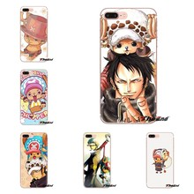 TPU Shell Covers For Huawei G7 G8 P7 P8 P9 Lite Honor 4C 5X 5C 6X Mate 7 8 9 Y3 Y5 Y6 II 2 Pro 2017 anime tony chopper One Piece(China)