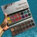 Beleza vitrificada 63 cores paleta de sombra lindo me maquiagem paleta à prova dwaterproof água natural pigmentado paleta de sombra