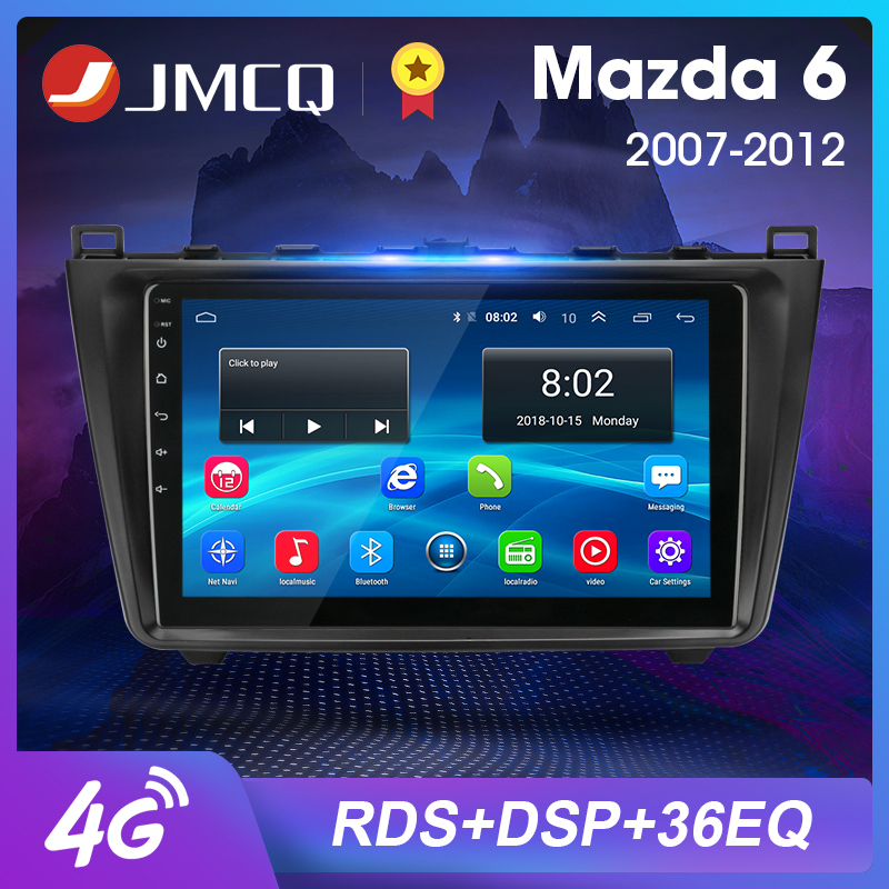 2DIN Android 8.1 2G+32G Car Radio Audio Multimedia Player For <font><b>Mazda</b></font> <font><b>6</b></font> Rui wing 2007-2012 <font><b>Navigation</b></font> <font><b>GPS</b></font> Head Unit Support BOSE image