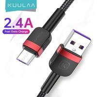 KUULAA Cavo Micro USB Per Xiaomi Mi Redmi 7 Veloce di Carico del Caricatore MicroUSB Cavo di Ricarica Per Samsung S7 Huawei Honor 8X Cavo USB