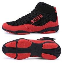 Новинка профессиональная обувь для бокса мужская большой размер