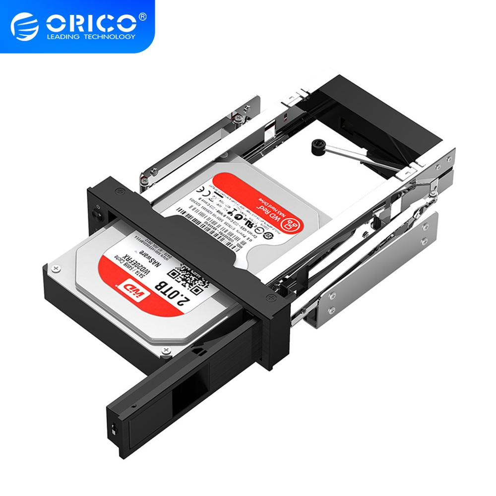 ORICO Hard Drive Caddy 3.5 inch 5.25 Bay Stainless Internal Hard Drive Mounting Bracket Adapter 3.5 inch SATA HDD Mobile Frame(China)