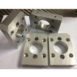 CNC machining aluminum stainless pieces custom service