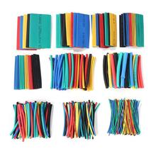 цена на 530pcs/Set Polyolefin Shrinking Assorted Heat Shrink Tube Wire Cable Insulated Sleeving Tubing Set 2:1