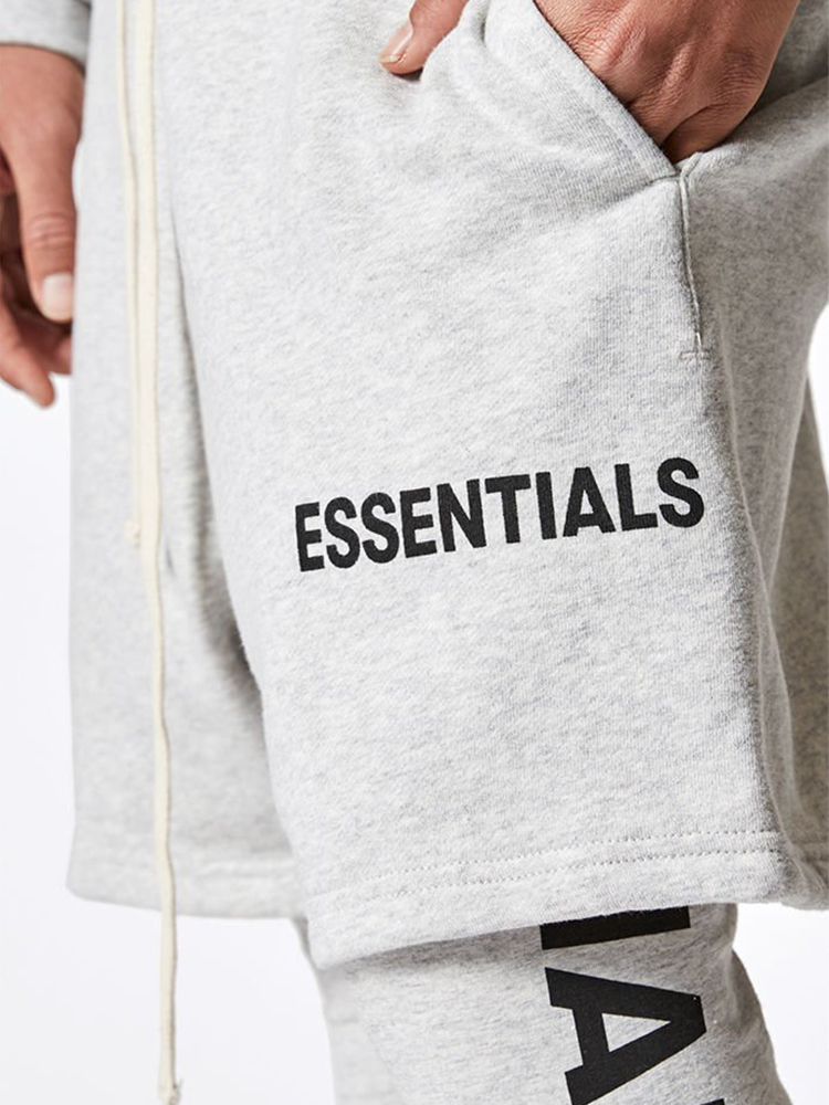 TSINGYI Justin Bieber Streetwear Essentials Shorts Hip Hop Brand Fashion Mens Sweat Harem Shorts Black Beige Yellow Red Grey