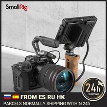 SmallRig Rắn Mamba Đen Khung Máy Ảnh Với Cáp HDMI Kẹp Và Tay Bộ Dành Cho Canon EOS R5 & R6 Camera 3233/3234