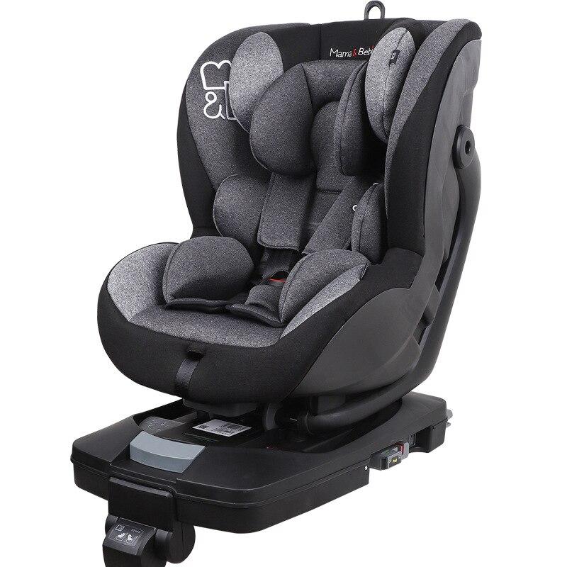Siège de sécurité enfant voiture avec 0-4 ans bébé nouveau-né chaise de sécurité universel bébé chaise pour voiture isofix siège auto