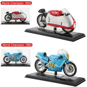 Image 5 - รถจักรยานยนต์รุ่นToy AlloyพลาสติกOff Roadรถจำลองการแข่งรถกีฬารถจักรยานยนต์รุ่นของเล่นสำหรับเด็กคริสต์มาส