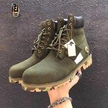 Couro genuíno dedo do pé redondo salto quadrado ankel botas para mulher outono inverno newfashion laço-up casal botas zapatos para mujer