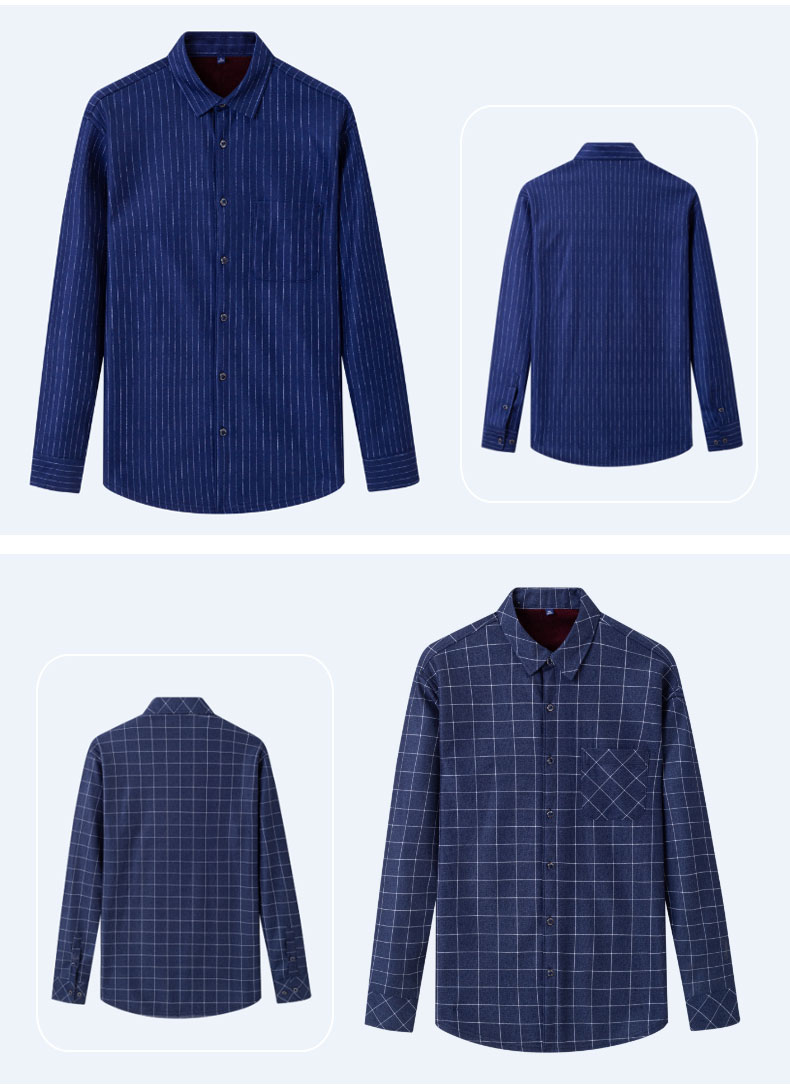 Lined Flannel Shirts
