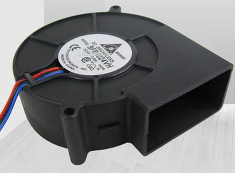 Free Shipping BFB1024VH 9733 9CM 24V Dual Ball Bearing Turbo Blower Fan